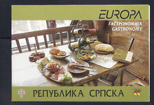 BOSNIA and HERZEGOVINA (SERB) 2005 EUROPA GASTRONOMY booklet VF/XF MNH