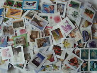 Australia Kiloware Stamps~200g~Mission Mixture~inc recent~on paper UK Seller