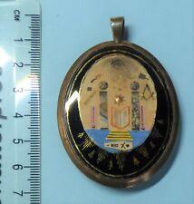More details for a rare masonic georgian napoleonic prisoner of war jewel with portrait