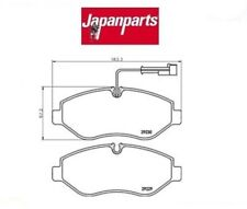 PA117AF Kit pastiglie freno a disco ant Nissan Cabstar (MARCA-JAPANPARTS)