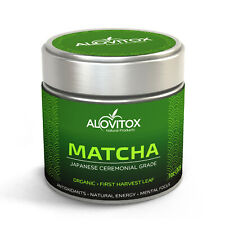 Matcha Green Tea Powder | High Caffeine  Ceremonial Grade Japanese First Harvest