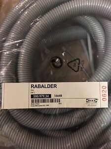 Ikea Cable Cord Organizer RABALDER Plastic Sleeve Tubes Animal Proofing 16' NEW