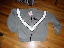 New! IPFU US Army Military Gray Windbreaker Jacket Large Water/Wind Resistant