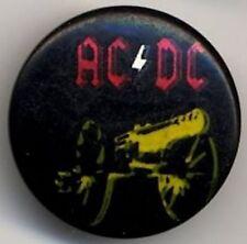AC/DC Badge Button #010POTASH