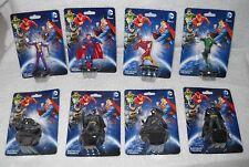 "#7166 DC Comics 2"" Figures - 4 Batman, Joker, Superman, Flash, Green Lantern"