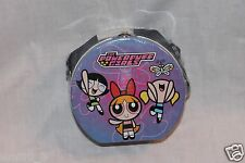 NEW  POWERPUFF GIRLS TIN CARRY CASE WITH STRAP