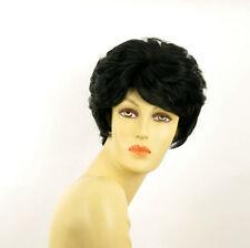 Perruque femme courte noir CLEMENTINE 1B