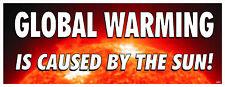GLOBAL WARMING SCAM POLITICAL BUMPER STICKER #4053