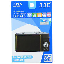 JJC LCP-GF6 LCD Film Camera Screen Display Protector for PANASONIC LUMIX GF6