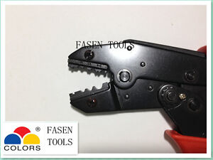 1.5-6mm² Ratchet Crimp Pliers Crimper Crimping Tool(bare termianl)