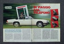 AD83 - Clipping-Ritaglio -1987- IN VIAGGIO COL TELEFONO