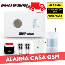 Alarma para casa sin cuotas GSM fácil de instalar en castellano seguridad AZ018