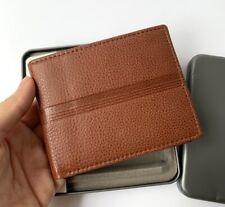 Fossil Roger Bifold w/ Flip ID Wallet in Cognac Genuin Leather for Men