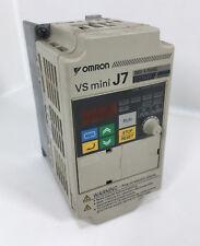 Omron VS mini J7 CIMR-J7AZ20P4 VFD 3 Phase