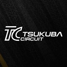 Tsukuba Circuit Japan Sticker JDM Racetrack Decal Drift Course Logo Decal
