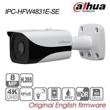 Dahua 4K UHD 8MP Bullet IP Security Camera 4mm H.265 POE IR IP67 IPC-HFW4831E-SE