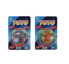 Jojo mit Licht 2er Pack Kindergeburtstag YoYo LED Jo-Jo leuchtend Spielzeug