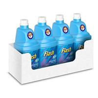 Flash Powermop Refill Liquid, Floor Cleaner, Fresh, 5 Litres 1.25 L x 4