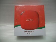 Hikvision Portable SSD 120G Red New in Box HS-ESSD-T100I External Up to 512GB