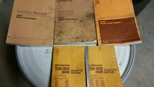CATERPILLAR  3208 DIESEL TRUCK ENGINE  SERVICE AND PARTS MANUALS  (LOT OF FIVE)