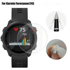 9H Tempered Glass Screen Protector Clear Film For Garmin Forerunner 245 Bracelet