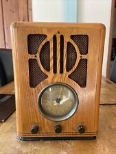 More details for casio rt2200 1930's style wooden radio casette player