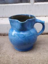 VINTAGE C H BRANNAN BARNSTABLE 78 ART STUDIO POTTERY SIDE HANDLE JUG