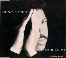 Lionel Richie Do It To Me UK CD Single Tamla Motown TMGCD 1407