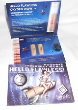 2 Packs - Benefit - Hello Flawless Oxygen Wow Makeup Mini - Petal & Champagne