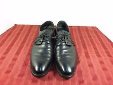 Arrmii & Romoa Black Leather Oxford Dress Casual Wedding Shoes Men Sz 9.5/ 275