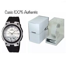 Casio Men Analogue Watch Alarm Digital Day Date LED Water Resistant AW-80-7AVDF