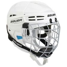 Bauer Prodigy YOUTH Combo Ice Hockey Helmet With Cage - White