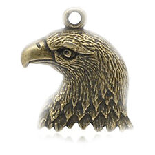 Eagle Head Charm Pendant for Necklace