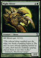 MTG magic cards 1x x1 Light Play, English Might Sliver Time Spiral