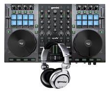 Gemini G4V 4-Channel Virtual DJ Controller w/ Headphones