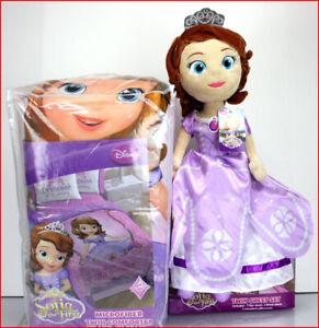 5 Pieces - Disney Princess SOFIA the FIRST Comforter + Sheet + Plush Sofia Doll