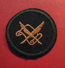 Canadian Armed Forces Administrative Clerk trade sleeve badge patch level 1