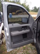 DRIVER LEFT FRONT DOOR 05-08 FORD F150 PICKUP LH KEYLESS CREW CAB 5.4 SILVER OEM