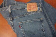 Levis 559 Blue Wash Denim Jeans 36x32