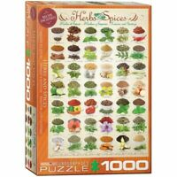 Eurographics Puzzle 1000 Piece Jigsaw Puzzle - Herbs & Spices  EG60000598
