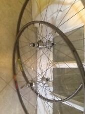 Vintage Mavic Gl330 Fr And Montreal Ambrosio Durex Rr Both With Campy Record Hub
