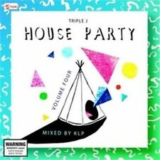 TRIPLE J's House Party Vol 4:  2CD NEW sealed mixed by kip release 04/09