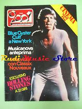 rivista CIAO 2001 38/1981 Rolling Stones Classix Nouveaux Ray Charles  No cd