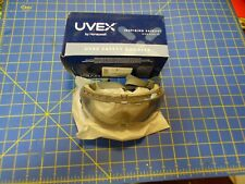 Uvex by Honeywell S3960C Stealth Antifog, Antiscratch, Antistatic Goggles, Gray
