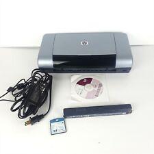 HP DeskJet 450cbi W/BATTERY A4 USB Portable InkJet Printer