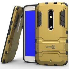 CoverON [Shadow Armor Series] Dual Layer Hard Slim Hybrid Kickstand Phone Cover