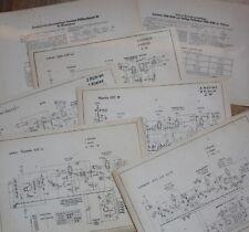 Schaltplan - LUMOPHON W 23 und WD 23