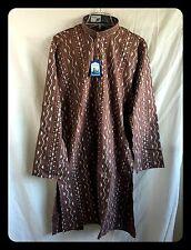 Indian Striped Cotton Kurta Men's Designer Casual Ethnic Wear Kurta