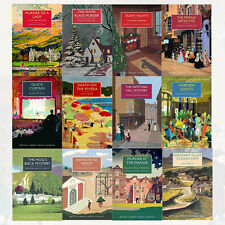British Library Crime Classics Series 3,4 Collection 12 Books Set Thirteen Guest