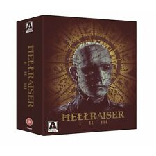 Hellraiser Trilogy - 3 Disc Blu-Ray - Uncut - Special Edition - Clive Barker